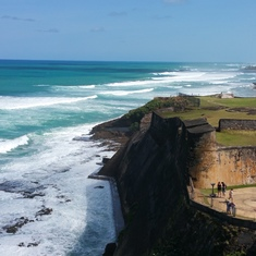 San Juan surf.