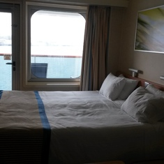 Balcony cabin 6186 on Carnival Sunshine