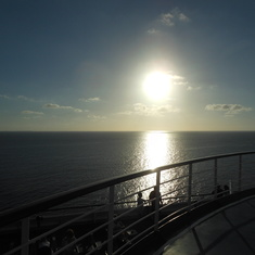 Nothing like a sunset onboard