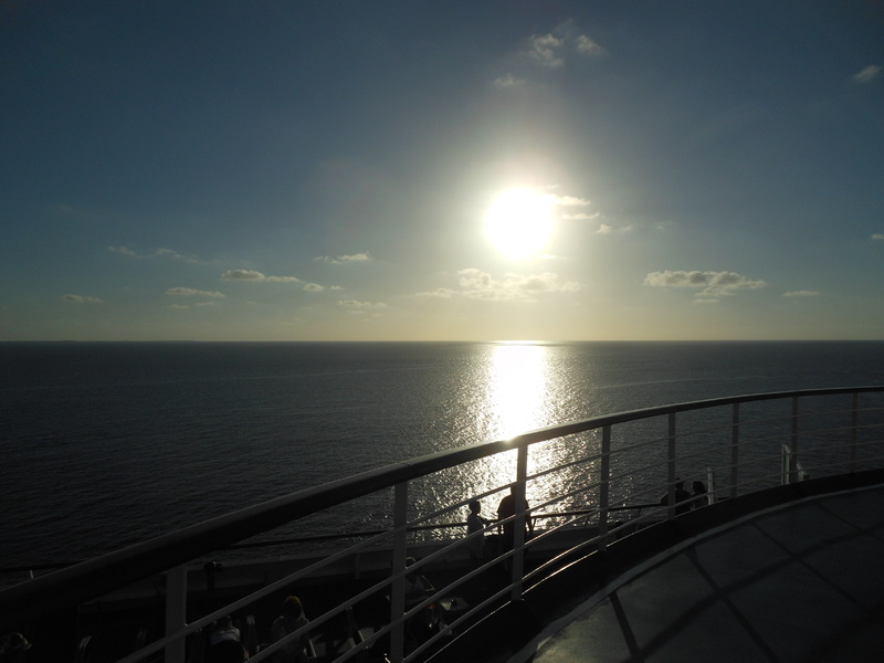 Nothing like a sunset onboard - Carnival Conquest