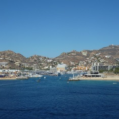 Cabo San Lucas from the ship