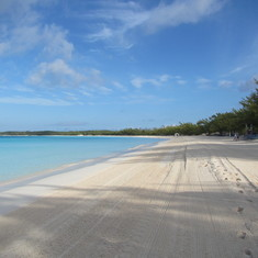 Half Moon Cay, Bahamas (Private Island) - View of beach - HMC