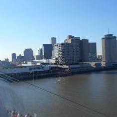 Nola cityscape