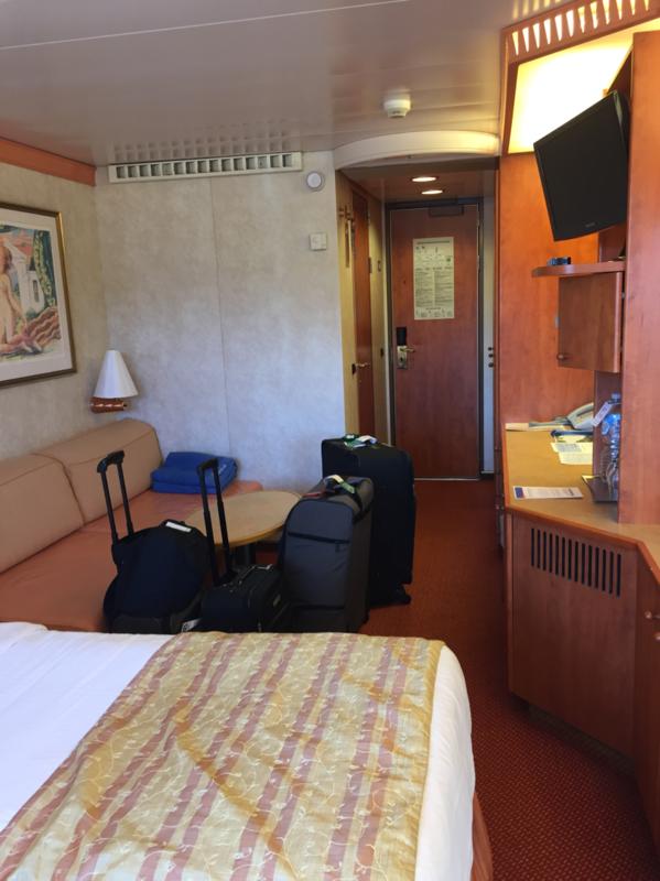 Balcony Cabin 6251 On Carnival Spirit Category 8d