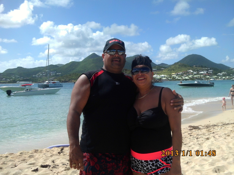 Philipsburg, St. Maarten - Great day at Piner Island.