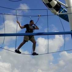 Sunshine ropes course