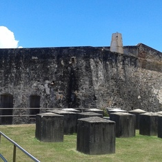 The Spanish Fort in San Juan, Puerto Rico.
