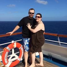 Randy & Jessica Frazer Honeymoon Cruise