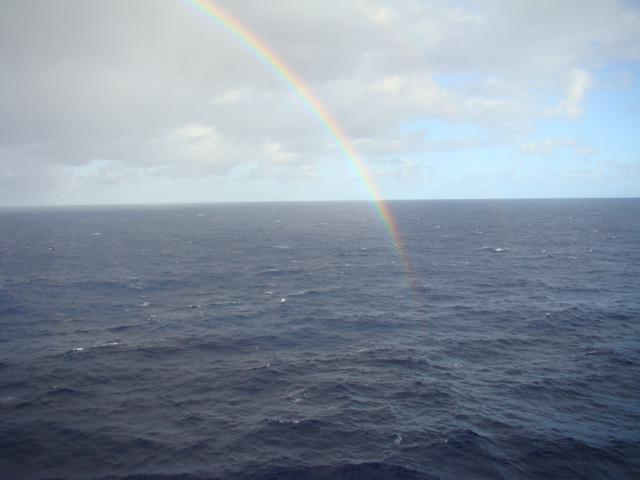 Rainbow from Explorer of the Seas - Explorer of the Seas