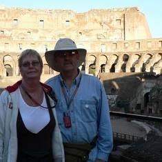 Civitavecchia (Rome), Italy - Inside the Coliseum