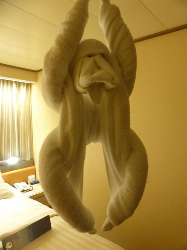 Monkey Towel Animal - Amsterdam