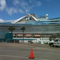 Houston, Texas - Caribbean  Princess