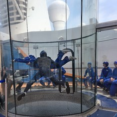 iFly. Book before embarking.