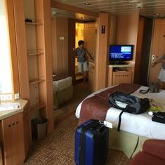 Concierege Class Balcony Stateroom 8086