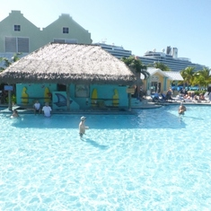 The pool at Grand Turk