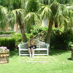 Battick gardens in St. Kitts