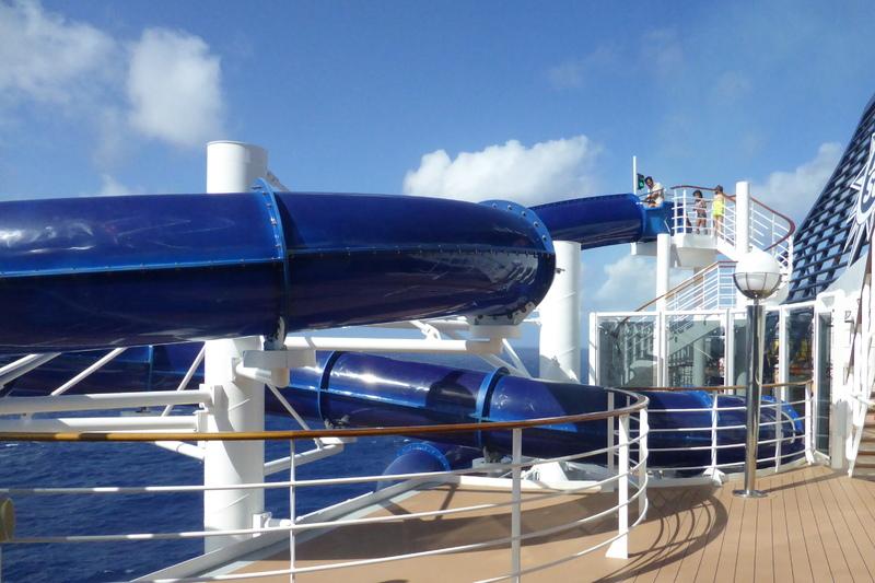 Water slide - MSC Divina