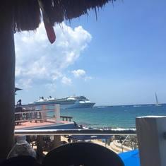 Sunset Beach resort on Cozumel, Mexico