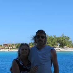 Grand Turk Island - Pam & Chris