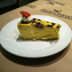 Oreo cheesecake in the Crab Shack on Royal Princess