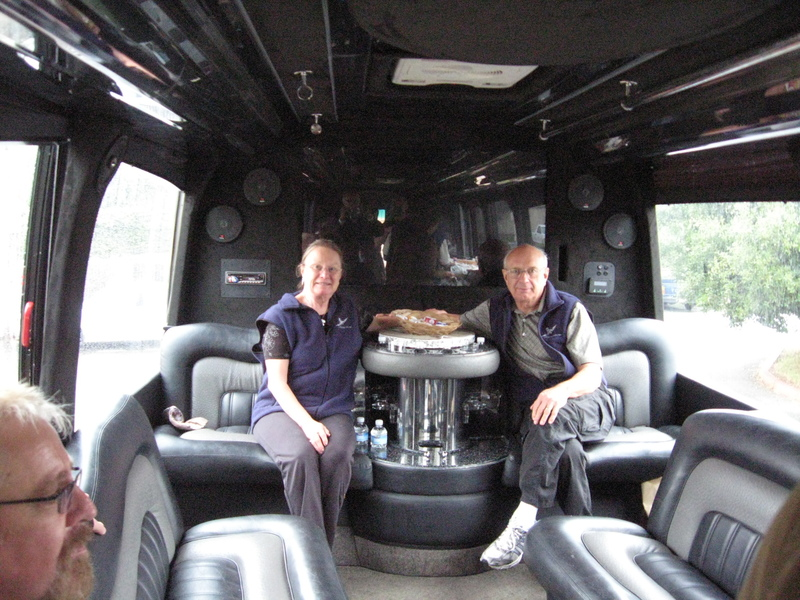 San Francisco, California - Only way to visit the NAPA Valley--In a large limo.