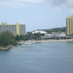 Kingston harbour from the Pearl