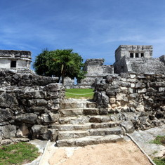 Cozumel, Mexico - Mayan Ruins at Tulum, Mex.