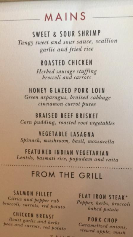 menu  - Carnival Ecstasy