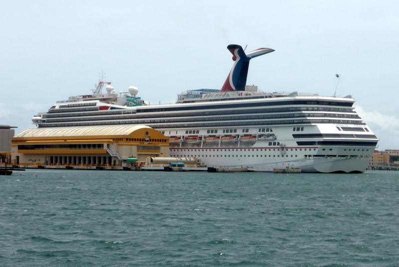 Our Ship in Port of San Juan - Carnival Liberty