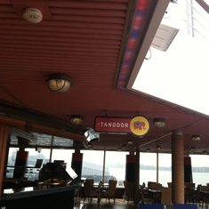Tandoor on Lido deck, Carnival Splendor