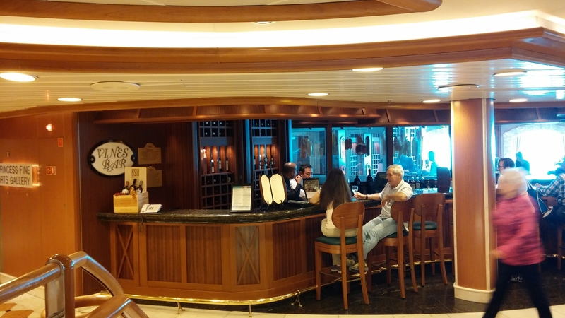 Wine Bar - Caribbean Princess