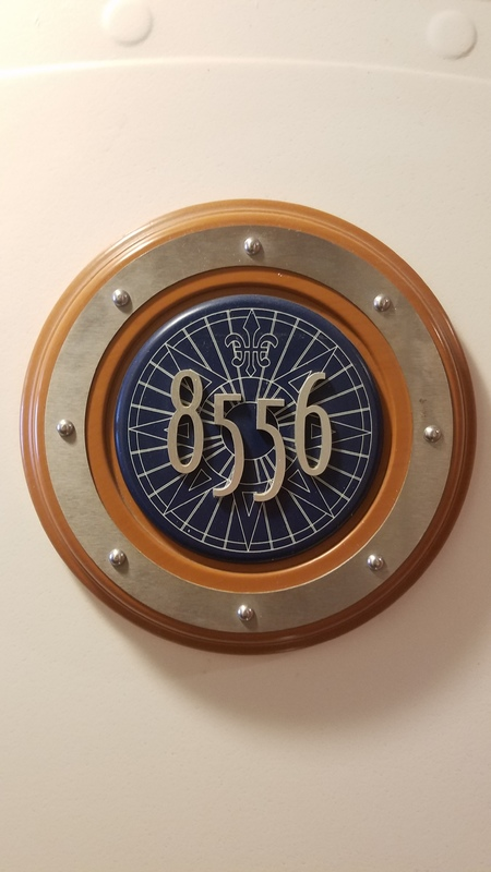 Disney Wonder cabin 8556
