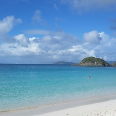 Charlotte Amalie, St. Thomas - Trunk Bay in St. Johns, USVI
