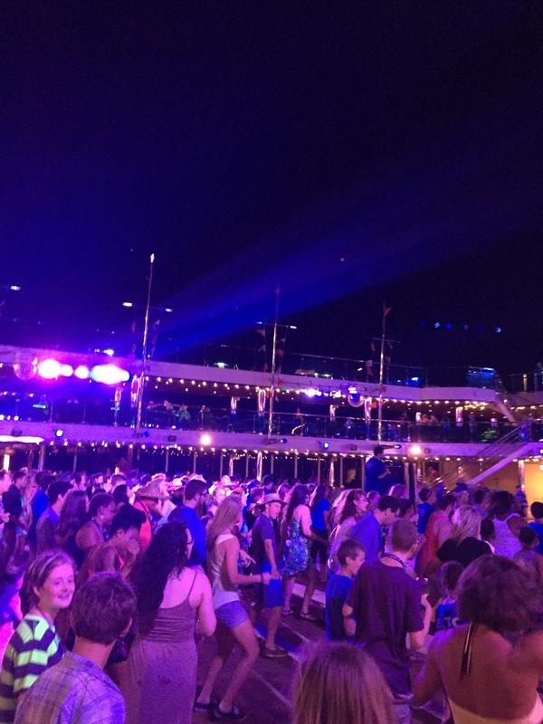 Blue Iguana Mexican Fiesta Deck Party - Carnival Dream