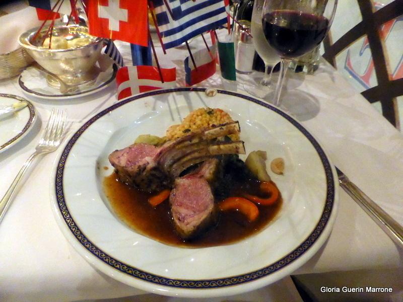 Baby Lamb Chops Dinner MDR - Amsterdam