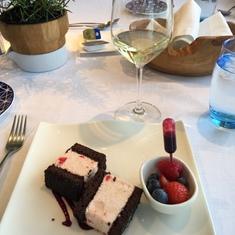 Three delicious desserts