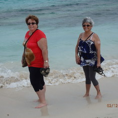 A little walk on Orient Bay Beach in St-Martin