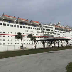 Ecstasy docked in Freeport