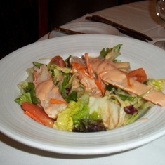 Seafood Salad in Great Gadsby