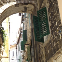Alleyway in Split