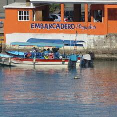 Mazatlan, Mexico - Water Taxi Stone Island