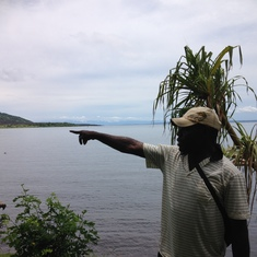 Albert, our guide in Rabaul, New Guinea.