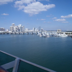 leaving Miami