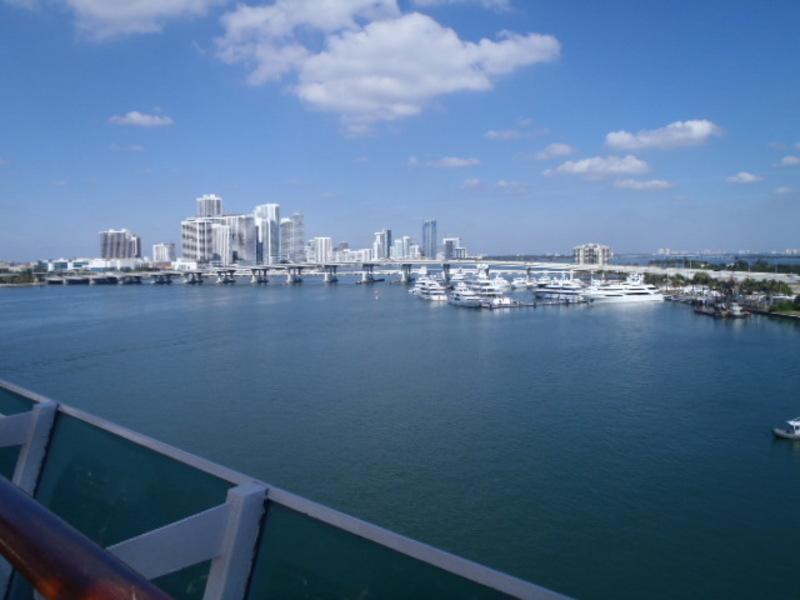 leaving Miami - Empress of the Seas