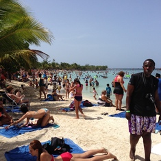 Beach at Costa Maya