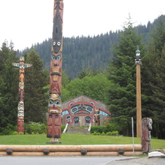 Ketchikan, Alaska - Ketchikan, Alaska---Greatest area of indigenous Alaskan cultural influence.