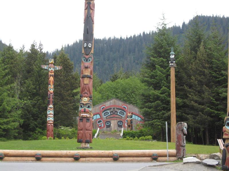 Ketchikan, Alaska - Ketchikan, Alaska---Greatest area of indigenous Alaskan cultural influence.