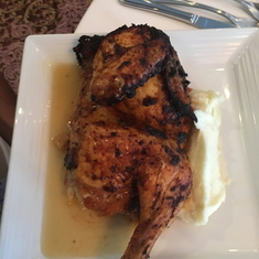 Half Chicken brunch at the Galley Tour