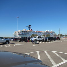 Jacksonville, Florida - Parking at Jax port