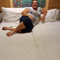 Nice clean bed